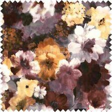 Telas y tejidos florales cortinas