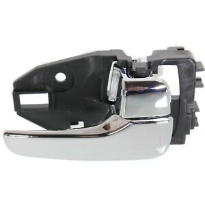 Door Handle For 2002-2007 Mitsubishi Lancer Front or Rear Right Chrome Plastic