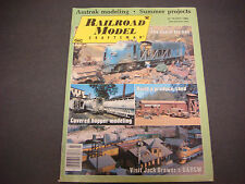 Railroad Model Craftsman Magazine,July 1984,Amtrak Modeling,Jack Brewer's D&Rgw