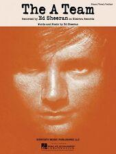 The A Team Sheet Music Piano Vocal Ed Sheeran NEW 000117295