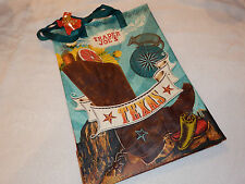 1 EACH TEXAS TRADER JOE'S JOES NEW ECO REUSABLE SHOPPING GROCERY BAG FREE SHIP