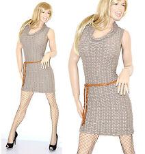 MINI ABITO donna VESTITO Tubino vestido dress kleid одеваться sukienka kläder 45