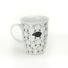 Schaf Tasse   * Funny Sheep*    Becher *weiße Schäfchen und ein Schwarzes*