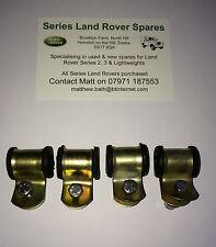 5 LAND Rover Serie 2 2A 3 ASSE POSTERIORE INOX condotta del freno Mount SCUDI nrc7314