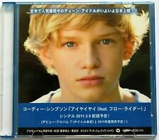 CODY SIMPSON iYiYi Rare 2011 Japan 1-Track DJ CD Single