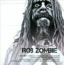 ROB ZOMBIE Icon (CD 2011) Best of Greatest Hits 12 Songs Hard Rock Heavy Metal