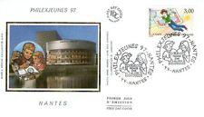 FDC - FRANCE 3059 - PHILEXJEUNES NANTES 1997