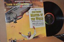 MASTER OF THE WORLD; 1961 VEE-JAY 4000 VG++ SOUNDTRACK LP; LES BAXTER MUSIC