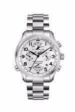 Bulova Precisionist Men's 96B183 Chronograph Silver-Tone Bracelet 46mm Watch