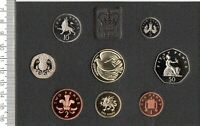 1995 UNITED KINGDOM PROOF COIN CASED ROYAL MINT YEAR SET