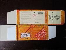 BOITE VIDE NOREV    RENAULT  11 POLICE 1983  EMPTY BOX CAJA VACCIA
