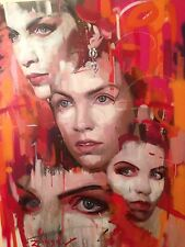 Zinsky~Original Pintura~Annie Lennox