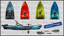 2020 Perception Pescador Crank 10.0 - Pedal Kayak w/Paddle
