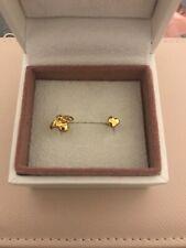 Pandora Earrings Shine Bee Heart Studs