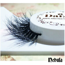 3D MINK EYELASHES THICK FLUFFY LASHES DRAMATIC EYELASHES 100% LUXURY MINK NEBULA