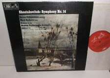 ASD 3090 Shostakovich Symphony No.14 Moscow Philharmonic Rostropovich