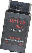 Immo Off Emulator EDC15 ME7 Box Wegfahrsperre Drive Box VAG VW Audi SEAT WFS EWS