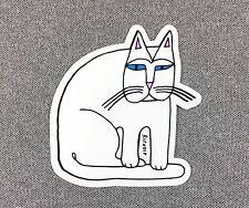 RipNdip Sticker Cat Alien stand 3.25in si
