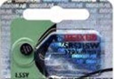 Maxell Watch Calculators Battery Button cell Silver Oxide SR521SW SR-521SW 379 1