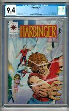 Harbinger #2 (1992) CGC 9.4  White Pages  Shooter - Lapham - Dixon  w/Coupon