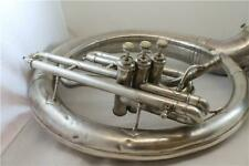 More details for king eb 3-valve sousaphone silver plate