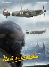 """Eduard Ltd Ed 1:72 Spitfire Mk. IX """"Nasi se vraceji"""" tres kit modelo de los aviones"""