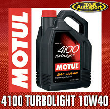 Motul 4100 TL 10W40 Technosynthese Semi-Synthetic Engine Oil - 1 Litre
