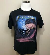 Vintage Forbidden Twisted Tour Shirt Large Metal Band 1989