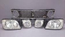 JDM Nissan Stagea WGC34 C34 Kouki XENON HID Headlights Fog Light Grille SET