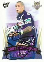 ✺Signed✺ 2007 MELBOURNE STORM NRL Premiers Card JEREMY SMITH
