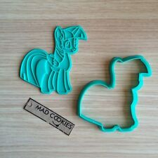 Twilight Sparkle Cookie Cutter - My Little Pony fondant mold 3d printed MLP