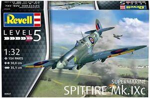 Revell G 3927 WWII Supermarine Spitfire Mk. IXC Fighter plastic model kit 1/32