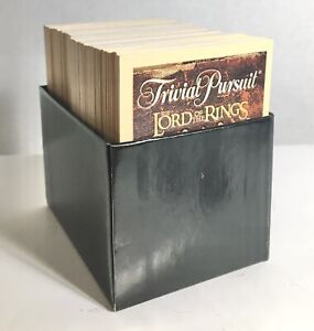 Full Box Of Cards - Trivial Pursuit Replacement Pieces - Lord Of The Rings