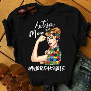Autism Mom Unbreakable- Autism Awareness T-Shirt