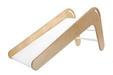 Kinderrutsche VIVA aus Holz Farbe Natur/Weiß