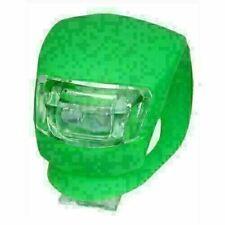 New BrCook Bike Cycling Super Led Front Head Rear Light Waterproof Lamp Green
