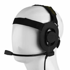 Z Tactical Bowman Elite II Military Headset for Baofeng TYT Kenwood 2 Pin Radio