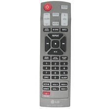 Original LG Control remoto para NB4540 el elegante barra de sonido subwoofer de 4.1 canales 320W