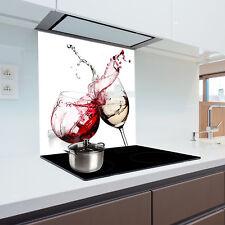 Glass Splashback  Kitchen Printed Panels Heat Resistant Toughened Glass 60x75cm