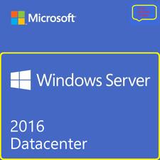 MSFT Windows Server 2016 DATACENTER 64 bit Digital License Key+ Download Link!!