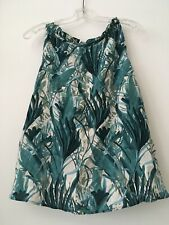 Amour Vert Zola Top Riviera Palm Small NWT