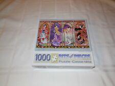 Bits and Pieces Puzzle. Oriental Gate Quilt. 1000 pieces. Complete
