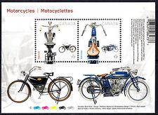 Canada 2013 Motorcyles Minisheet mnh