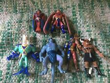 1995 Figure Lot. Dragon Flyz, Earthworm Jim, Gargoyles, Vr Troopers, Hercules