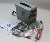 220V 709A 1.5KW  Battery Spot Welder Micro-computer Pedal Control + Soldering