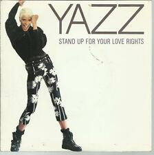 45 TOURS - YAZZ - STAND UP FOR YOUR LOVE RIGHTS