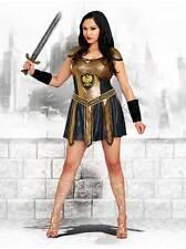 Mighty Warrior Princess Greek Roman Costume Halloween Outfit Women Plus 3X/4X