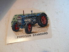 "1990s  3""  SMOOTH SURFACE TRANSFER OF FORDSON STANDARD TRACTOR"