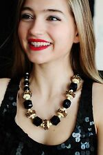 Kate Spade through the 'looking glass' crystal necklace black $275 clear pave