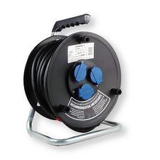 Enrouleur de câble standard IP44 25 m câble H07RN-F 3G1,5mm BERNER
